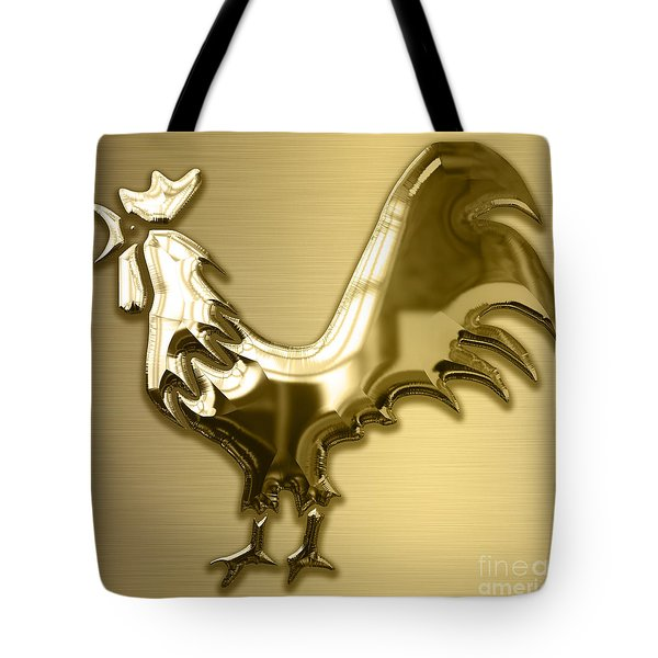 Rooster Collection Tote Bag