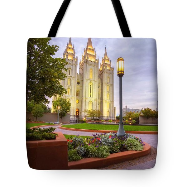 Salt Lake Temple Tote Bag