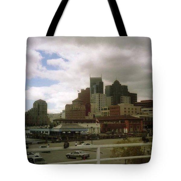 San Francisco Port Tote Bag