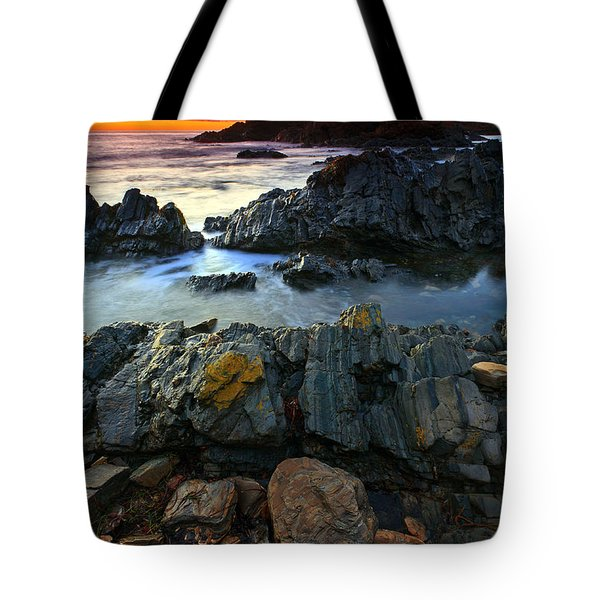 Second Valley Sunset Tote Bag by Bill  Robinson