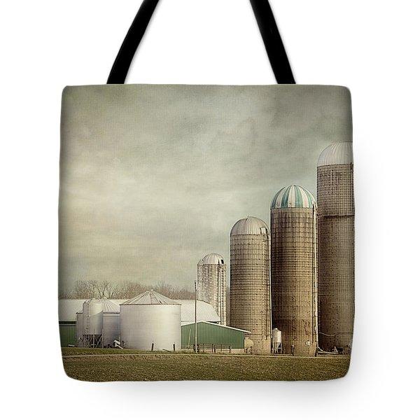 4 Silos Tote Bag