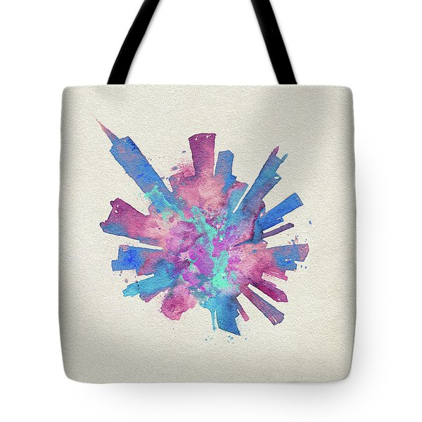 Skyround Art Of Chicago, United States Tote Bag