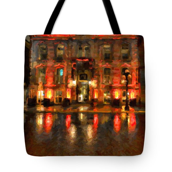 Street Reflections Tote Bag