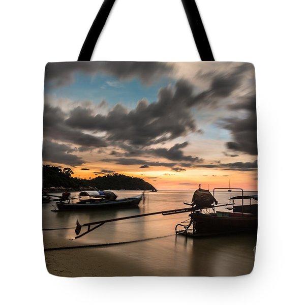 Sunset Over Koh Lipe Tote Bag