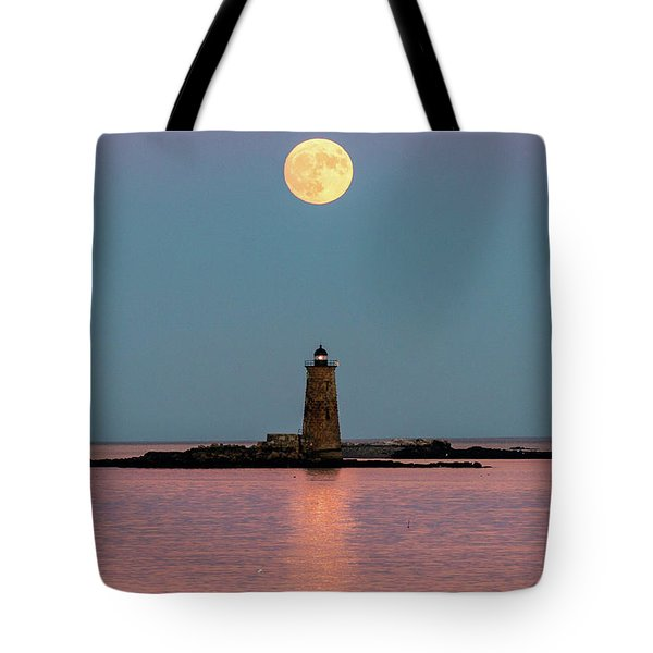 Super Moon 2016 Tote Bag