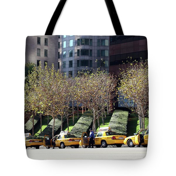 4 Taxis In The City Tote Bag