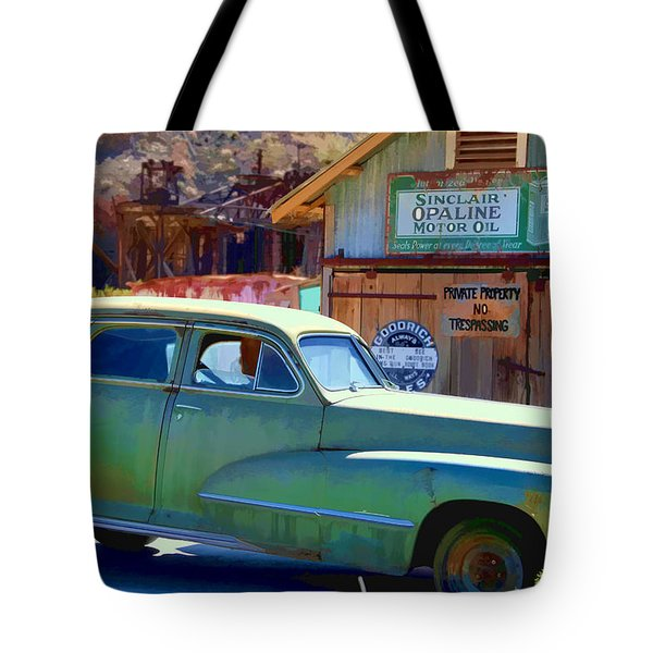 Techatticup Mine Ghost Town Nv Tote Bag