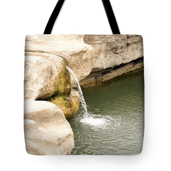 Tote Bag featuring the photograph Texas - Mckinney Falls State Park  by Ray Shrewsberry