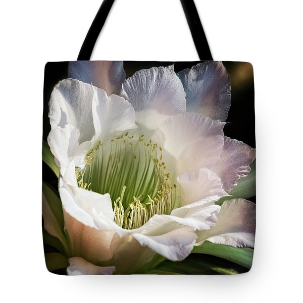 Tote Bag featuring the photograph The Beauty Of White  by Saija Lehtonen