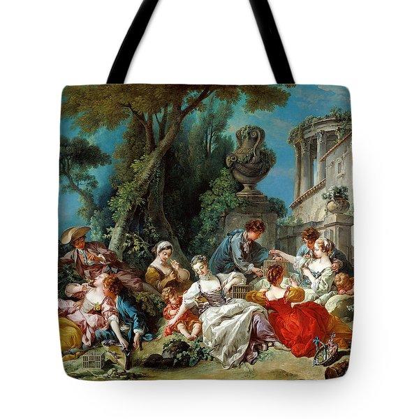 The Bird Catchers Tote Bag