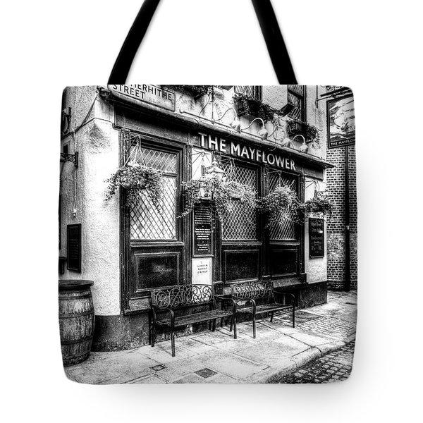 The Mayflower Pub London Tote Bag