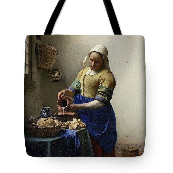 The Milkmaid, 1660 Tote Bag
