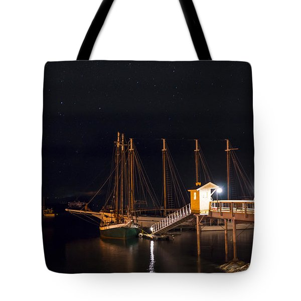 The Schooner Margaret Todd Tote Bag