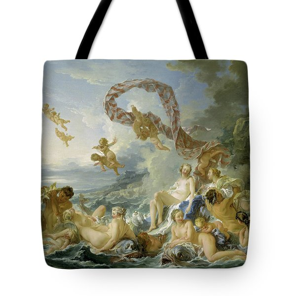 The Triumph Of Venus Tote Bag