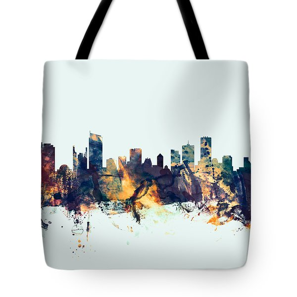 Vancouver Canada Skyline Tote Bag