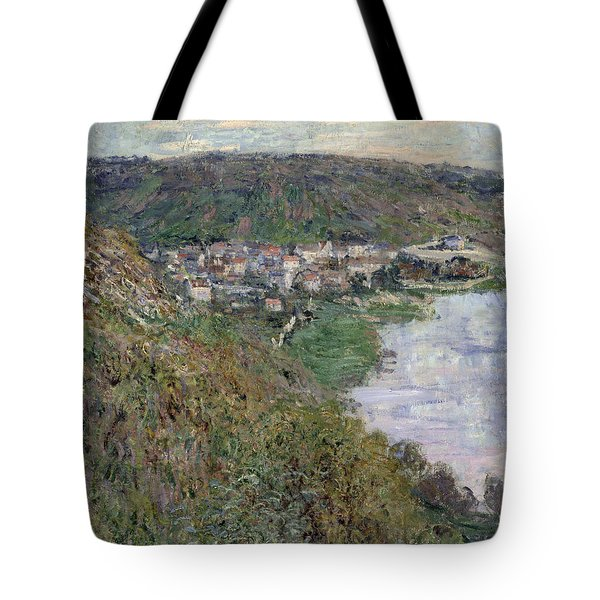 View Of Vetheuil Tote Bag