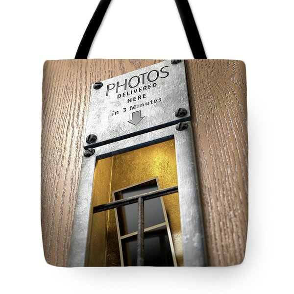 Vintage Photo Booth Pickup Slot Tote Bag