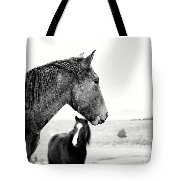 Virginia Range Mustangs Tote Bag