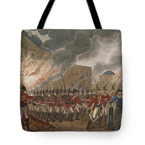 Washington Burning, 1814 Tote Bag by Granger