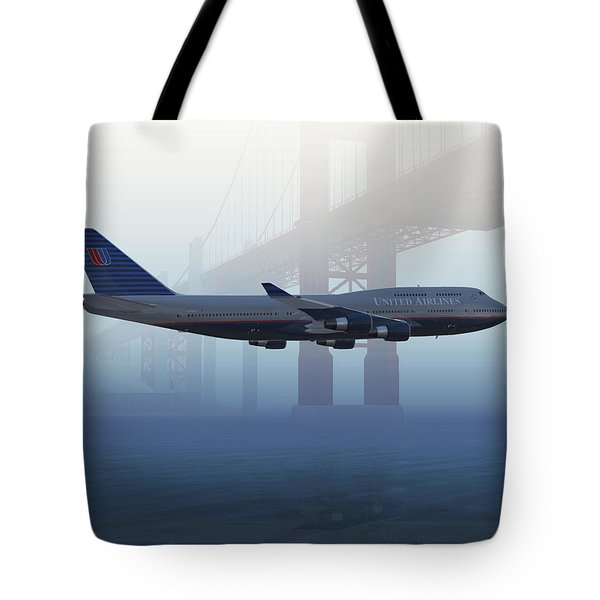 400 Under The Gate Tote Bag