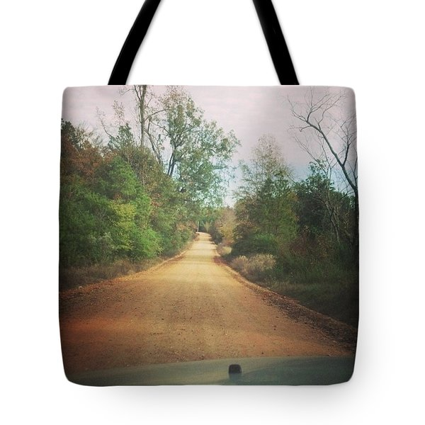 Gravel Path Tote Bag