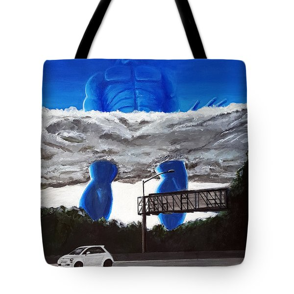 405 N. At Roscoe Tote Bag by Chris Benice