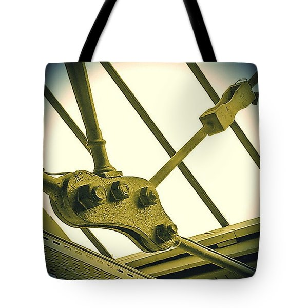 Bolted Tote Bag