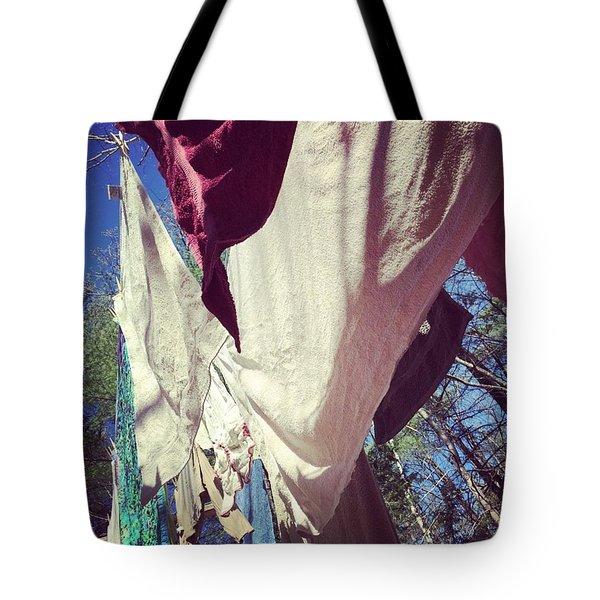 Line Dry #2 Tote Bag