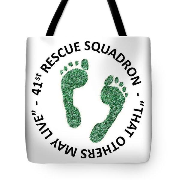 41st Rescue Squadron Tote Bag