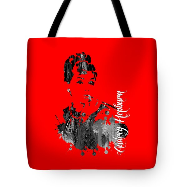 Audrey Hepburn Collection Tote Bag by Marvin Blaine