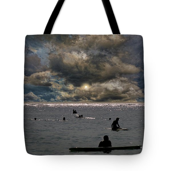 Tote Bag featuring the photograph 4367 by Peter Holme III