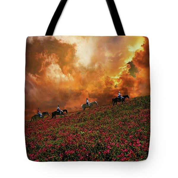 Tote Bag featuring the photograph 4370 by Peter Holme III