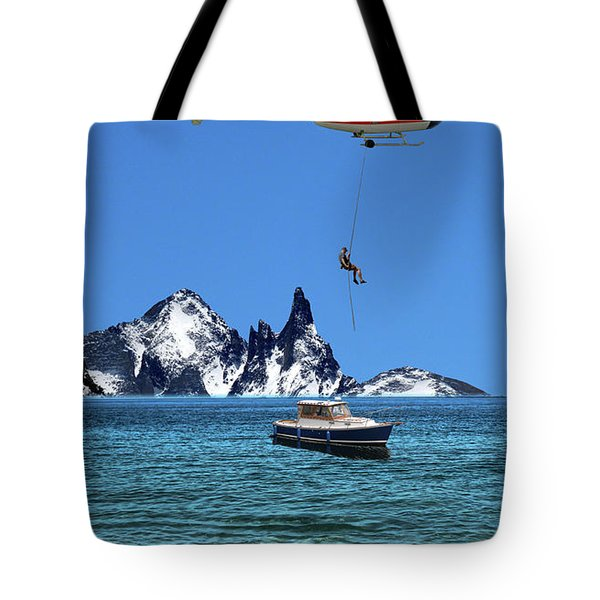 Tote Bag featuring the photograph 4372 by Peter Holme III