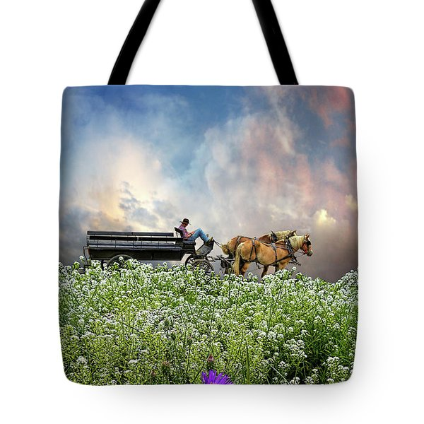 Tote Bag featuring the photograph 4376 by Peter Holme III