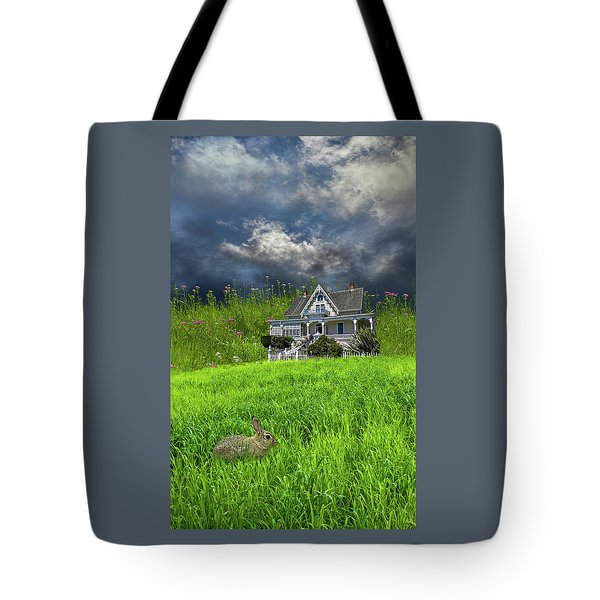Tote Bag featuring the photograph 4379 by Peter Holme III