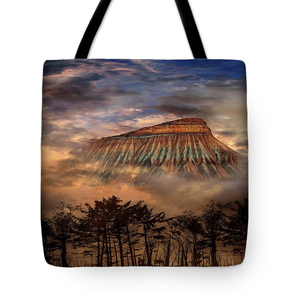 Tote Bag featuring the photograph 4381 by Peter Holme III