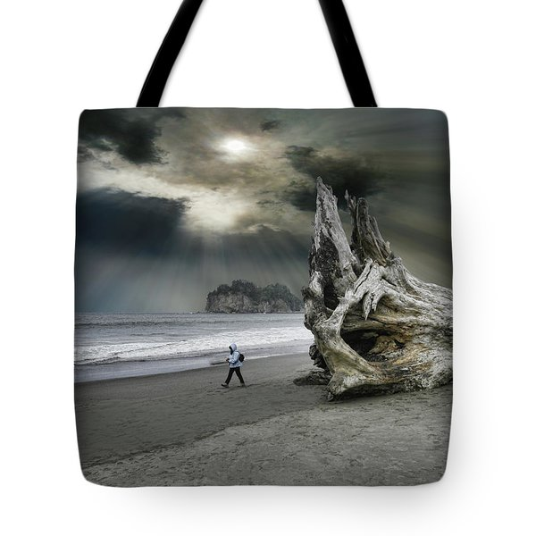 Tote Bag featuring the photograph 4392 by Peter Holme III