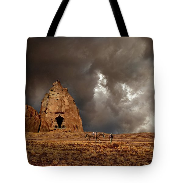 Tote Bag featuring the photograph 4398 by Peter Holme III