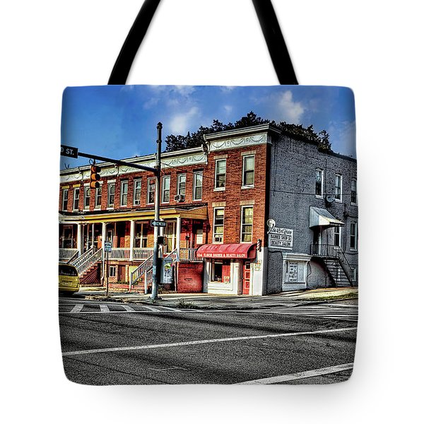 43rd Street And York Road Tote Bag