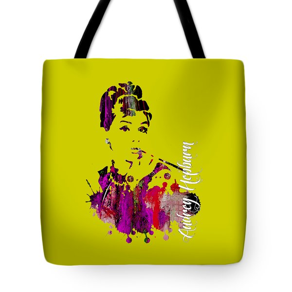 Audrey Hepburn Collection Tote Bag