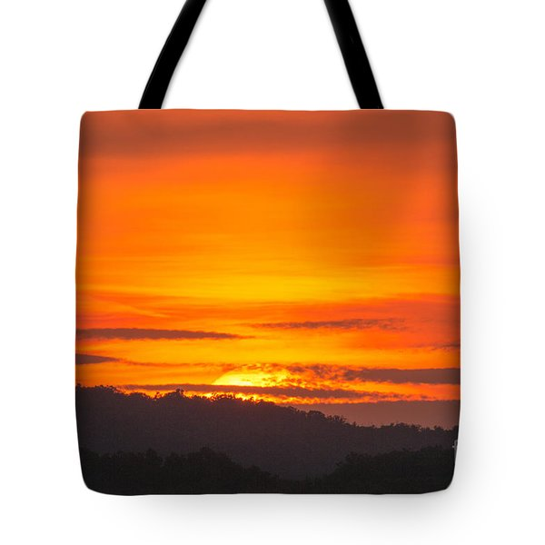 Sunset Tote Bag by Odon Czintos