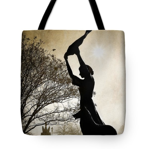 44 Years Of Waving Tote Bag by Renee Sullivan