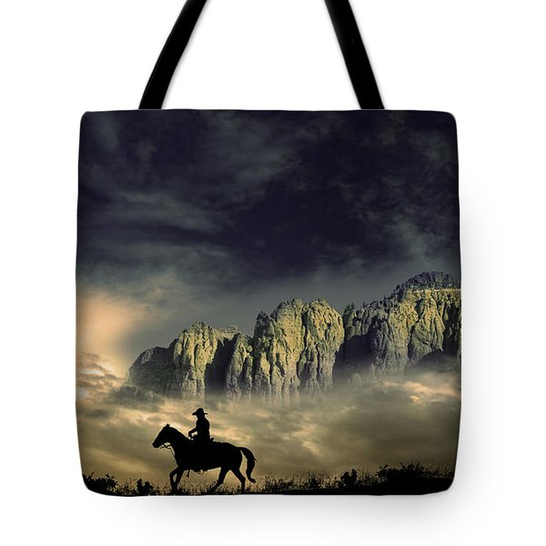 Tote Bag featuring the photograph 4403 by Peter Holme III