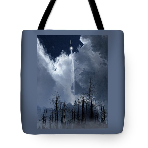 Tote Bag featuring the photograph 4404 by Peter Holme III