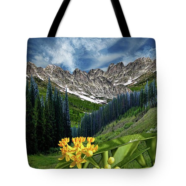 Tote Bag featuring the photograph 4415 by Peter Holme III