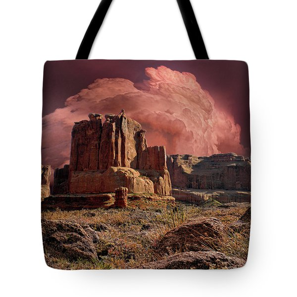Tote Bag featuring the photograph 4417 by Peter Holme III