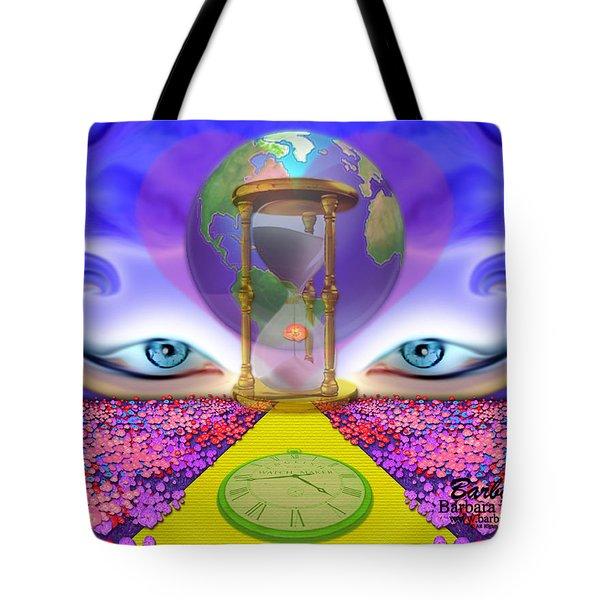 444 Pathway Tote Bag by Barbara Tristan