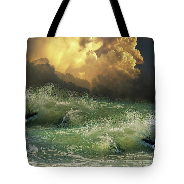 Tote Bag featuring the photograph 4449 by Peter Holme III