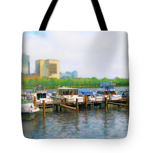 Tote Bag featuring the photograph 4455 by Peter Holme III