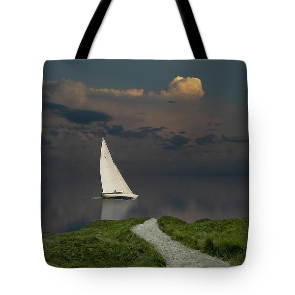 Tote Bag featuring the photograph 4456 by Peter Holme III